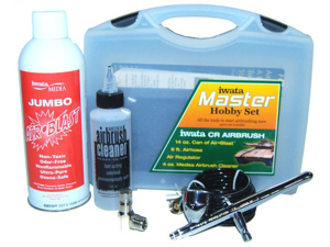 Iwata DETAIL MODELER'S HOBBY SET Revolution CR Airbrush