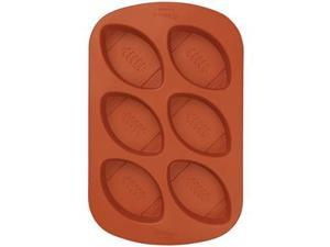 Wilton MINI FOOTBALL SILICONE MOLD Sports Ball Team Pan