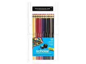 Prismacolor Scholar Color Pencil Erasable Assrt Set/12