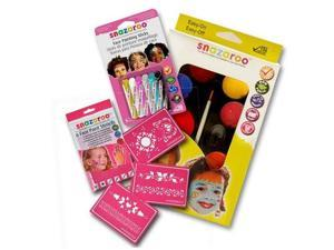 New SNAZAROO Girls Face Paint Kit Birthday Party Kids