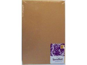 "Speedball Linoleum Block Unmounted 9"" x 12"" Smoky Tan"