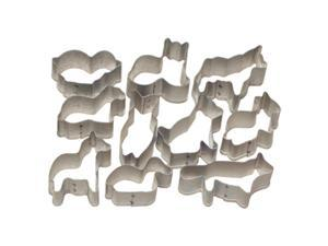 Ateco Cake Decorating 10 PIECE ANIMAL CUTTER SET Cookie Fondant Treat