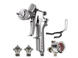 DeVILBISS No Cup GFG-670 PLUS SPRAY GUN 3 Tips 1.2 1.3 1.4 Auto Paint Clearcoat