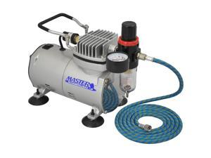 Quiet PRO AIRBRUSH COMPRESSOR w-AIR REGULATOR & WATER TRAP FILTER Cake Tattoo
