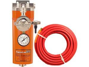 DeVILBISS AIR LINE FILTER Regulator Water Oil Trap & 50 FOOT HOSE for Spray Gun