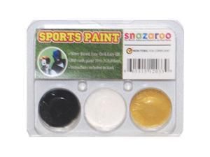 SNAZAROO Saints Football Fan FACE PAINTING KIT Paint Set