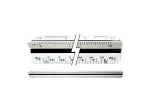"C-Thru Premium Architects Triangular Scale 12"" Ruler 16ths Drafting"
