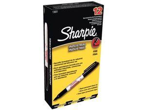 Sharpie Industrial Marker Pen Fine Point Black 1 Box