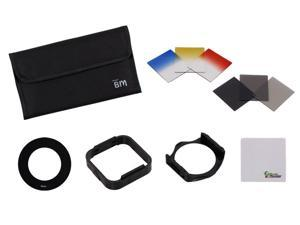 Bundle Monster 11pc DSLR Camera Lens ND Graduated Filter+55mm Ring Accessory Set