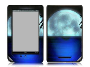 Bundle Monster Nook Color Nook Tablet Vinyl Skin Decal Sticker - Blue Moon