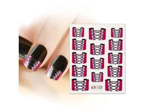 BMC Nail Art Water Transfer Tattoo Effects Decoration Decal-Corset French Tips
