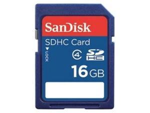 SanDisk 16GB 16G SD SDHC Secure Digital Card Class 4 with oem USB Reader