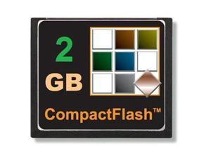 TOPRAM 2GB CF 2G CF CompactFlash Compact Flash Card Industrial Grade SLC Flash - OEM
