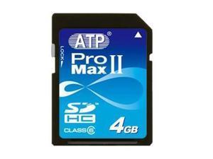 ATP ProMax II 4GB SD 4GB SDHC 4G Secure Digital Card C6 Class 6 (bulk pack) - OEM