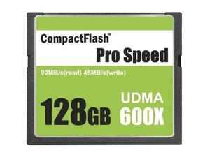 3C Pro 128GB CF 128G CF CompactFlash Card 600X Extreme Speed Fast UDMA RAW