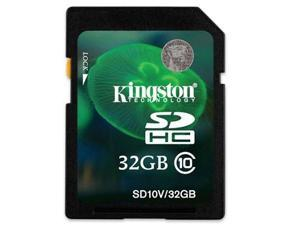 Kingston 32GB Secure Digital High-Capacity (SDHC) Memory (Flash Memory)