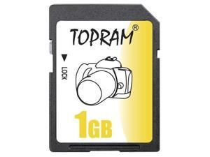 TOPRAM 1GB SD 1G SD Secure Digital Card - Bulk - OEM