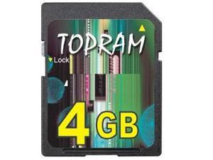TOPRAM 4GB 4G SD Card v1.1 non HC non-HC for older device Treo i730 iPaq PDA Palm