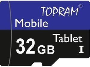 TOPRAM 32GB 32G microSD microSDHC micro SD SDHC Card Class 10 Ultra High Speed UHS-I for Samsung Galaxy S3 S4 S5