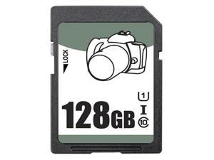 OEM 128GB SD SDHC 128GB SDXC Card Class 10 Ultra High Speed UHS-I for Camera & Camcorder