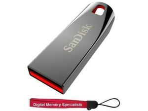 SanDisk 32GB 32G Cruzer Force USB 2.0 Flash Pen Drive SDCZ71-032G with Lanyard