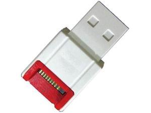 TOPRAM USB 2.0 microSD / microSDHC / microSDXC High Speed Card Reader R10b, support 4GB, 8GB, 16GB, 32GB, 64GB capacity - OEM