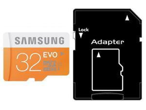 Samsung EVO 32GB 32G microSDHC micro SD SDHC 48MB/s UHS-I microSD Class 10 with OEM SD Adapter