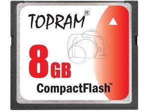 TOPRAM 8GB CF 8G CF Compact Flash CompactFlash Card