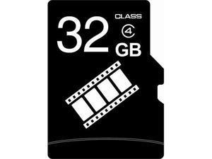 FilmPro 32GB 32G microSD microSDHC micro SD Class 4 C4 Memory Card