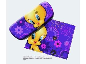 Spoontiques Tweety Bird Eye Reading Glasses Case and Lens Cloth