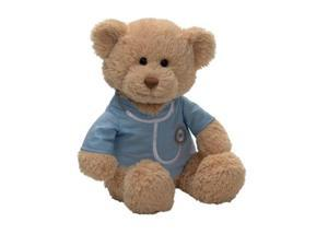 "Gund Blue Medical T-Shirt 12"" Bear Plush"