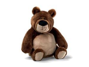 "Gund Hoagie Brown 13"" Bear Plush"