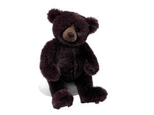 "Gund Matisse Very Dark Brown 14"" Bear Plush"