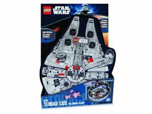 LEGO Star Wars ZipBin Millennium Falcon Minifigure Case