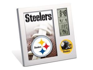 "Pittsburgh Steelers Official NFL 4""x6"" Desk Clock by Wincraft"