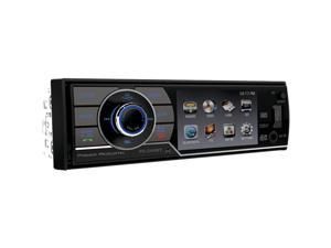 "POWER ACOUSTIK PD_344B 3.4"" Single_DIN In-Dash DVD Receiver with Detachable Face"