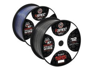 T-spec V10sw12125-BK Speaker Wire (125ft&#59; 12 Gauge)