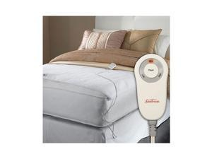Sunbeam Foot Cuddler Warmer Electric Heated Mattress Pad, Twin / Full