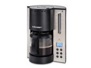 Cloer 5218NA 12-Cup Bitterness Eliminating Coffee Maker, Stainless Steel/Black
