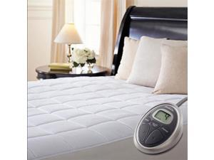 Sunbeam Therapedic Deluxe Premium Quilted Heated Electric Mattress Pad - Queen