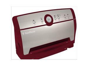 Foodsaver V3816 Vertical Vacuum Food Sealer Packaging System Stainless Red