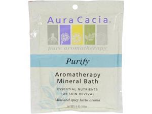 Aura Cacia, Aromatherapy Mineral Bath Purify 2.5 oz