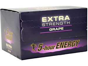 5-Hour Energy Extra Strength (24 Bottles Grape)