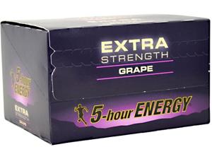 5-Hour Energy Extra Strength (24 Bottles Grape)