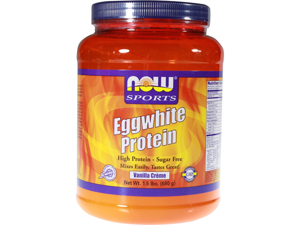 Egg White Protein - Vanilla - Now Foods - 1.5 lbs - Powder
