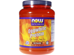 Eggwhite Protein-Rich Chocolate - Now Foods - 1.5 lbs - Powder