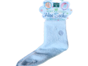 Aloe Infused Socks Blue - 1 pair - Sock