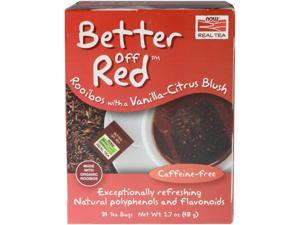 Better Off Red Roobios Vanilla Citrus Blush Tea 24 Tea Bags
