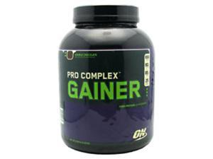 Pro Complex Gainer, Double Chocolate, 5.08 lbs, From Optimum Nutrition