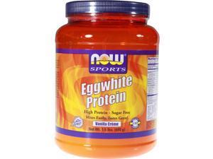 Egg White Protein - Vanilla - Now Foods - 1.5 lbs - Powder